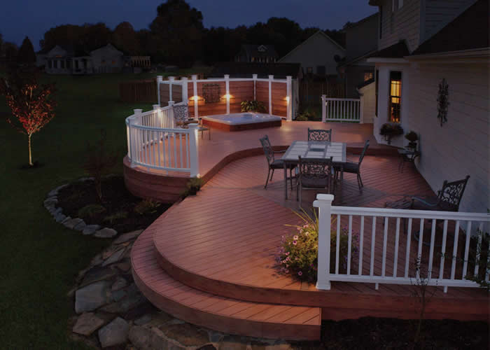 Patio Deck Example From Chicago Deck Builders
