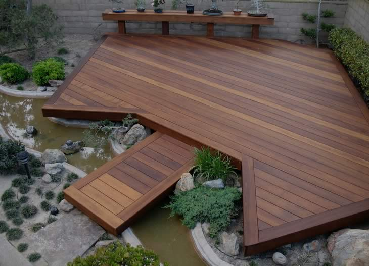 Platform Deck Example From Chicago Deck Builders