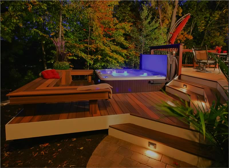 Pool Deck Example From Chicago Deck Builders
